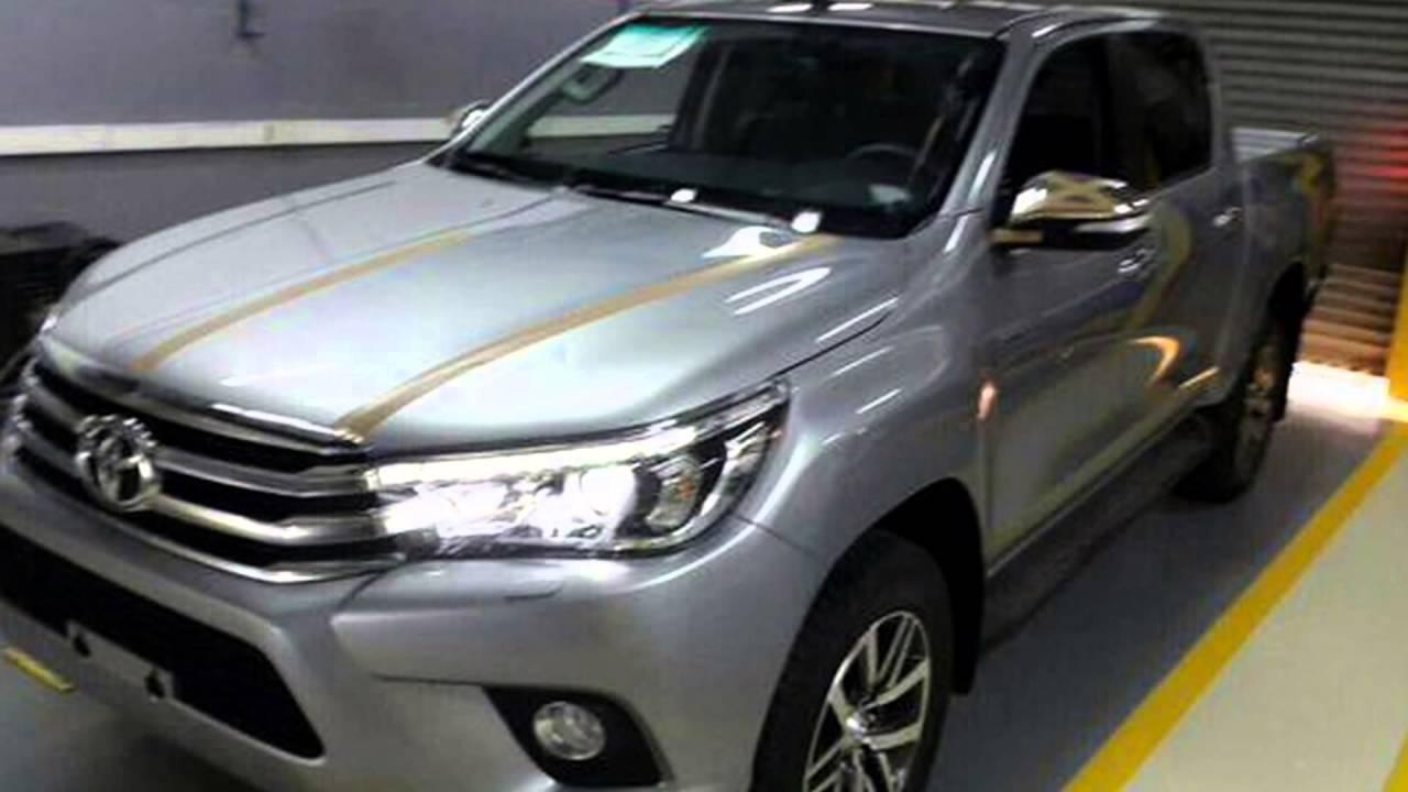 2016 Toyota Hilux Silver Metallic Youtube