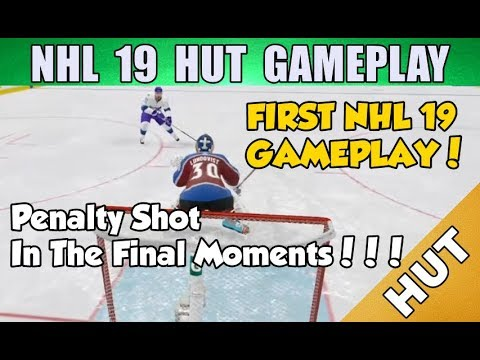 First Gameplay of the Year! - NHL 19 HUT - Hockey Ultimate Team - CRAZY FINISH!
