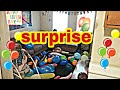 BEST SURPRISE PARTY EVER FOR OUR 4 YEAR OLD!!!  (part 1)