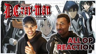 D.GRAY-MAN OPENINGS 1-5 (All Openings!) | Anime Reaction