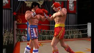 Rocky legends (PS2) Rocky Balboa vs Ivan Drago (Career Rocky Balboa)