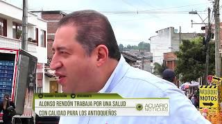 Alonso Rendón trabaja por una salud con calidad para los antioqueños