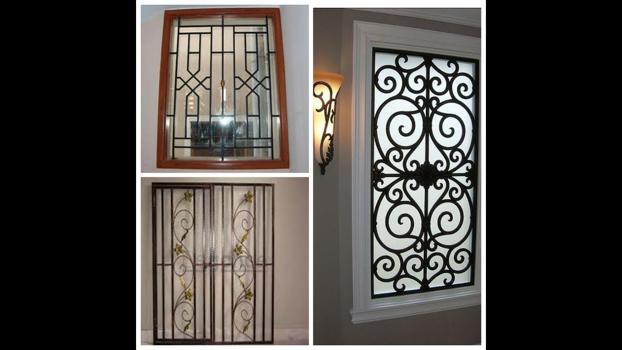 Top 25 iron window grill ! Grill design ! Steel grill ...