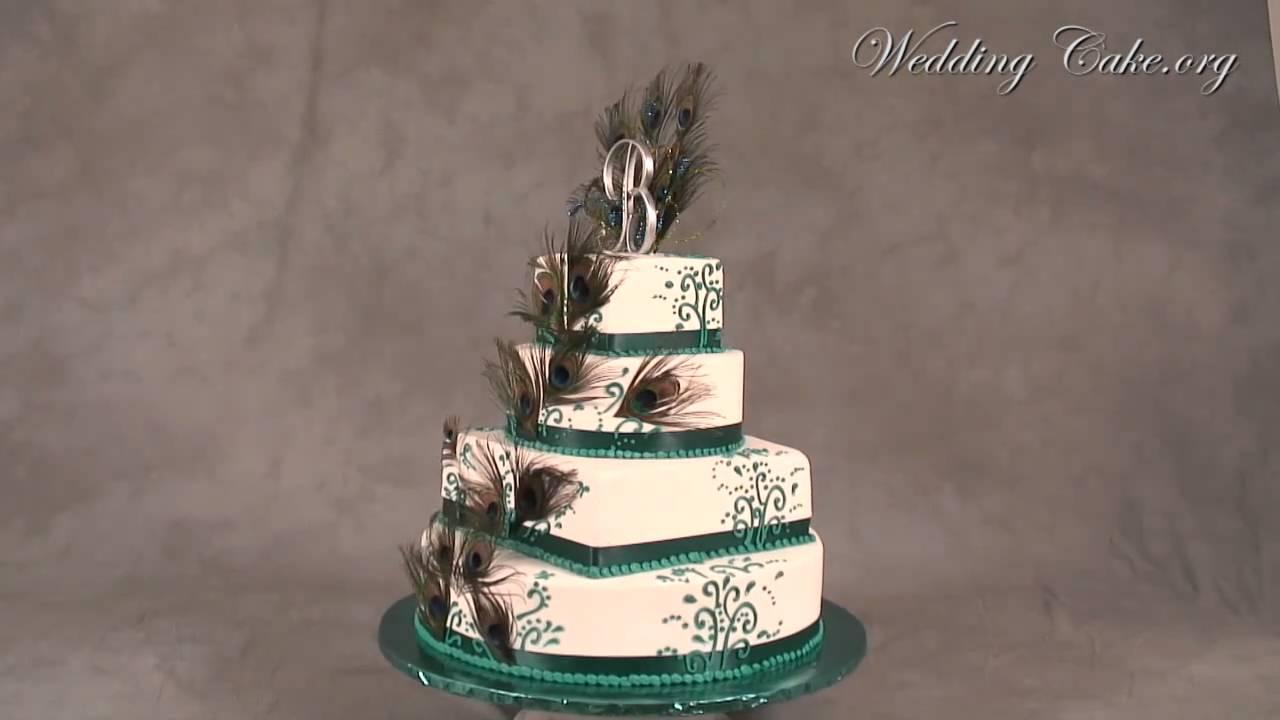 Peacock Wedding Cake.Unique Wedding Cakes Peacock Wedding Cakes Peacock In Love