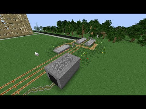 Город в Minecraft - 5 - Железная дорога