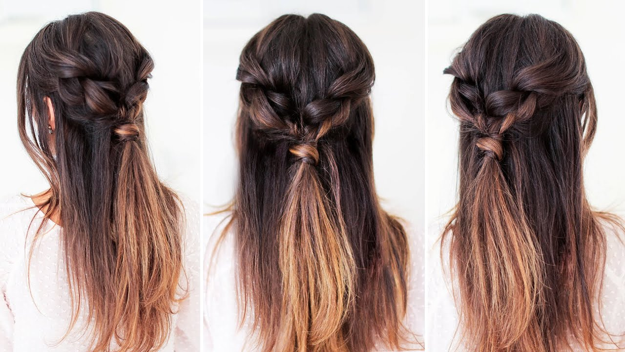 Easy Styles For Long Hair: Easy Everyday Hairstyle