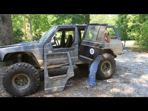 How To Make Removable Half Doors - Jeep Cherokee - Part 1