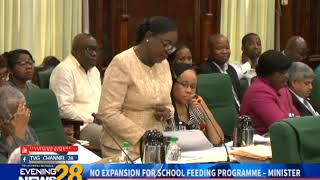 NO EXPANSION FOR SCHOOL FEEDING PROGRAMME – MINISTER  12 12 2018