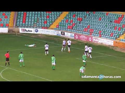 Resumen CF Salmantino UDS 4-0 CD San José