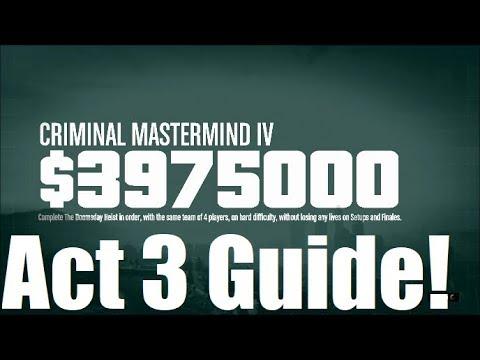 GTA Criminal Mastermind Doomsday Heist Guide Act 3