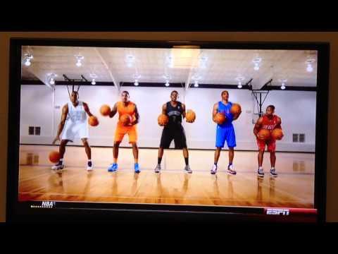 NBA 2012 christmas song