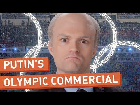 Vladimir Putin's Local Olympics Commercial