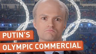 Repeat youtube video Vladimir Putin's Local Olympics Commercial