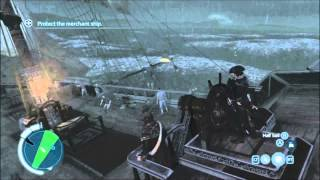 The Rescue - Naval Missions - Full Sync - weak spots, 2 misses - Assassin's Creed 3