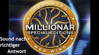 Wer wird Millionär Soundtracks [20] - Sound nach richtiger Antwort