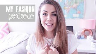 One of CopperGardenx's most viewed videos: My Fashion Design Portfolio: University | CopperGardenx