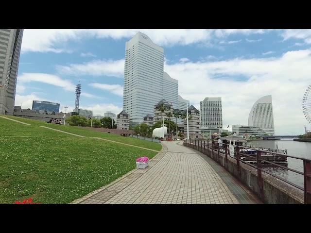 「 横浜みなとみらい Ⅱ 」 YI 4K / Zhiyun Rider-M