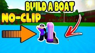 SUPER FAST NO CLIP GLITCH | Build a Boat for Treasure ROBLOX