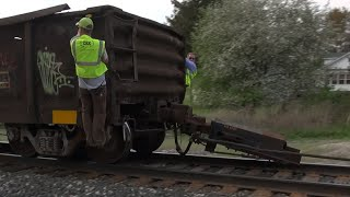 TRRS 440: CSX Train Ripped Apart - Railcar Destroyed!