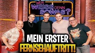 😍😱 MEIN ERSTES MAL IM FERNSEHEN! | WWDS mit Rewi, Kai Pflaume, Elton und Bernhard Hoëcker