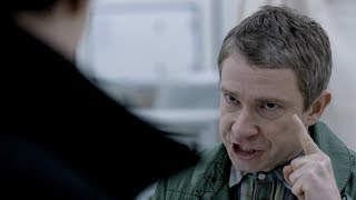Джон Ватсон видит Хаунда под наркотиком. Шерлок. 2012