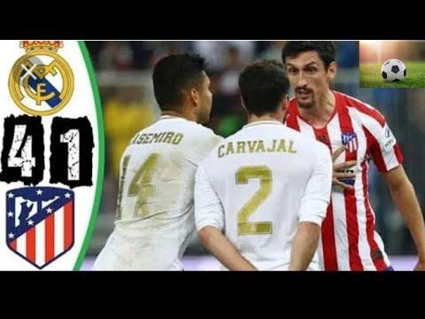 مباراة ريال مدريد vs أتلتيكو مدريد (4-1) ركلات الترجيح جنون فهد العتيبي