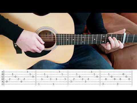 Fix You (Coldplay) - Fingerstyle Guitar With Free TABS