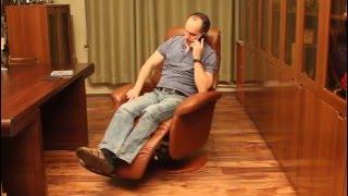 Кожаное кресло-реклайнер Relax Lotus(, 2015-10-15T09:42:43.000Z)