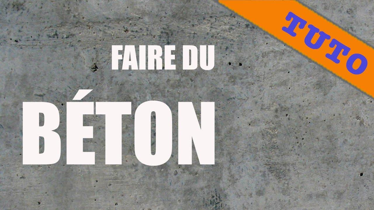 Recette : Comment Préparer Du Béton ?