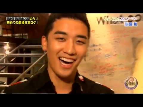 oguri shun and seungri Sakigake interview 2012