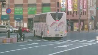 西肥バス コーラルエクスプレス F551 佐世保駅前にて