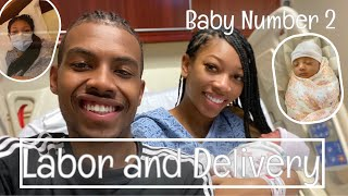 BIRTH DURING QUARANTINE | LABOR AND DELIVERY VLOG| BABY NUMBER 2