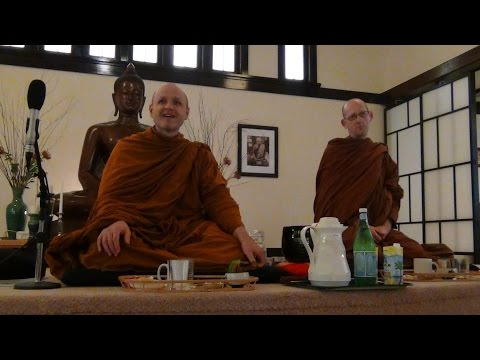 """Selfishness and the ""Secret to Happiness"" - Ajahn Sudanto, Pacific Hermitage Monks - 4/21/17"