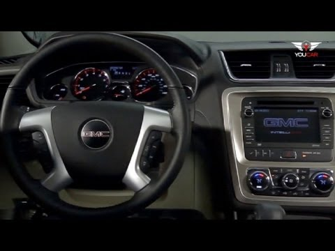 2013 Gmc Acadia Interior Youtube