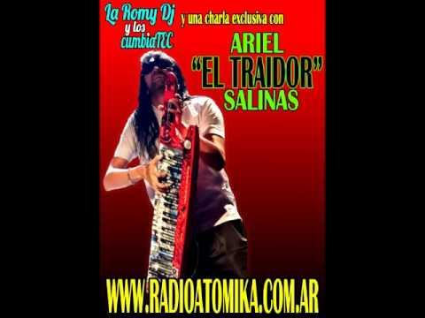 """ARIEL """"EL TRAIDOR"""" SALINAS con LA ROMY DJ Y LOS CUMBIATEC"""