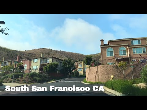 🔴  South San Francisco Realtor Driving Tour 4K