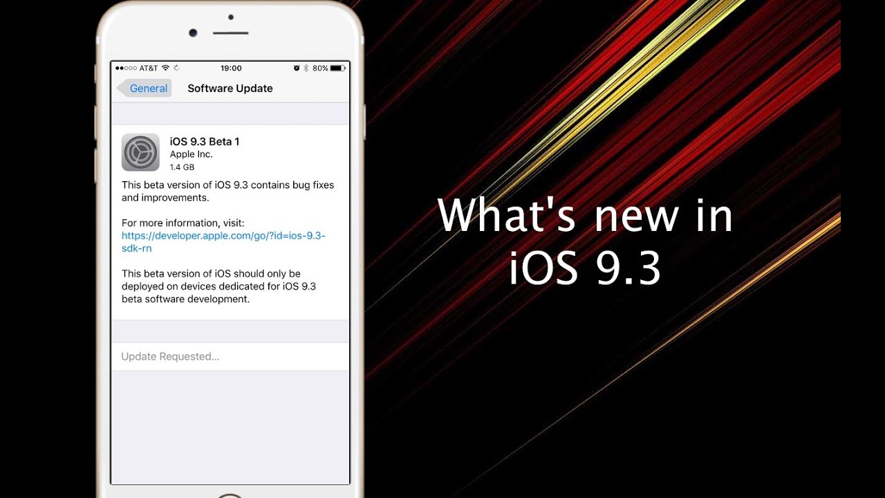 Apple seeds iOS 9 3 beta 5 to developers