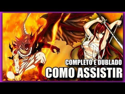 Como Assistir Fairy Tail Dublado Português Brasil E Portugal - OVA Legendado. Anime Netflix?