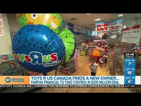 Toys R Us Canada Finds A Buyer