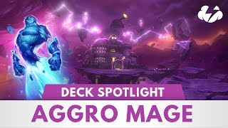 Aggro Mage | Spell Powered Deck Spotlight! | [The Boomsday Project]