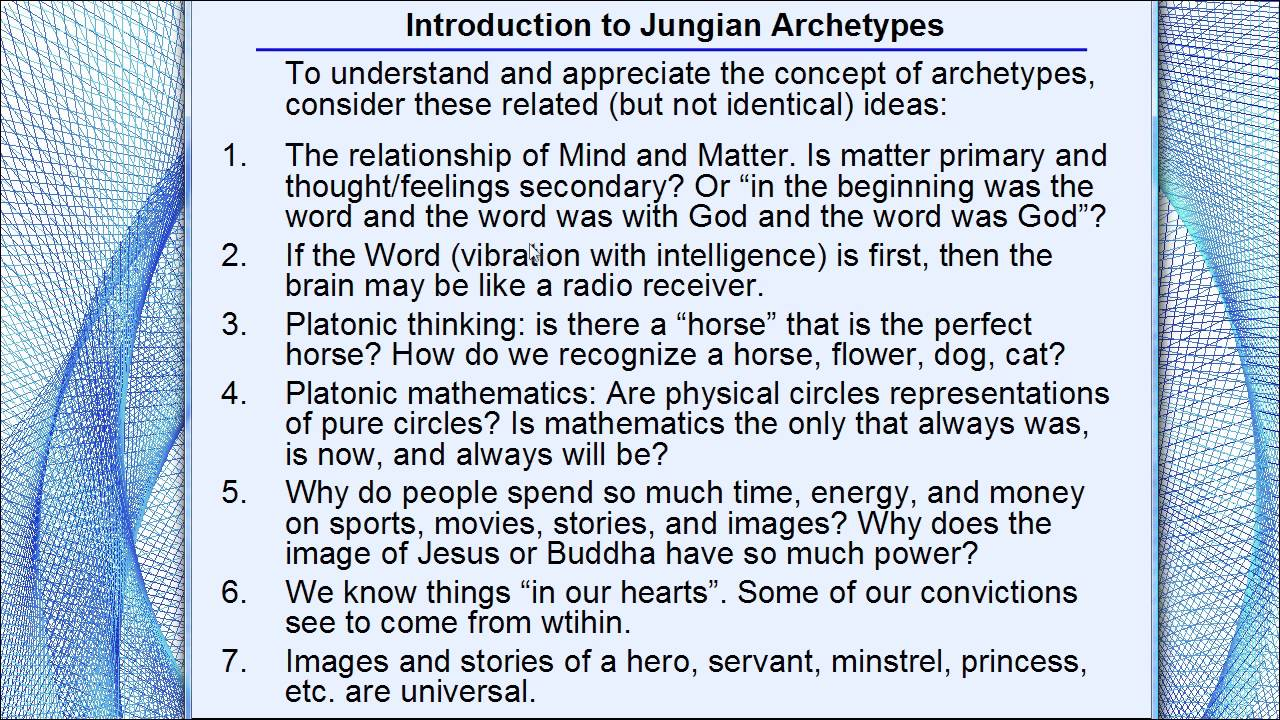 jungian archetypes essay Essay about archetype: jungian archetypes and spiderman dino chiu mr patrick flahive 11pd 3, oct 2013 the archetype an archetype is a typical example of patterns or behavior of a certain person or thing.