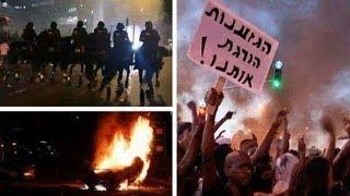 مظاهرات اسرائيل،تل أبيب تشتعل والعنف ضد يهود اثيوبيا