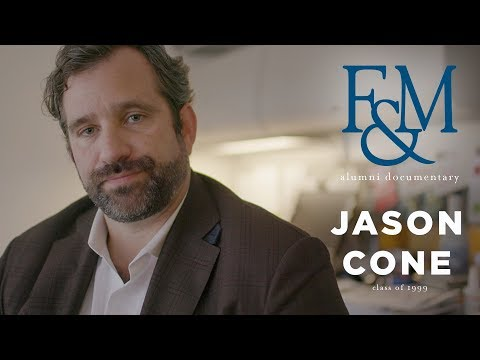 Alumni Documentary: Jason Cone '€™99