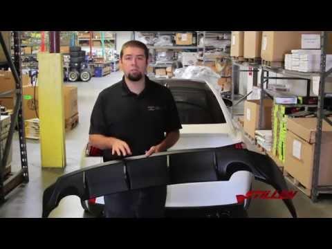 HOW TO: Lexus IS250 / IS350 Rear Diffuser Install | STILLEN