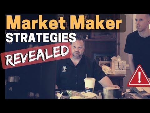 Forex Market Maker Strategies REVEALED !!