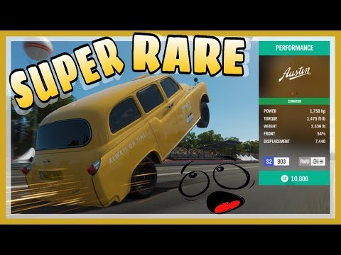 FASTEST AND RAREST RWD CAR ON FORZA HORIZON 4 *MUST WATCH* thumbnail