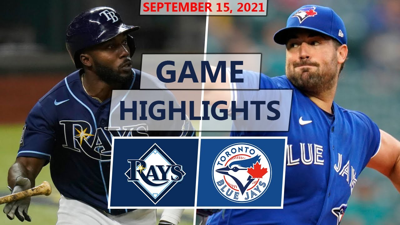 Download Tampa Bay Rays vs. Toronto Blue Jays Highlights | September 15, 2021 (Wacha vs. Ray)