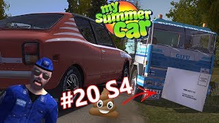 ZAMAWIAMY CAR AUDIO I SPŁACAMY MANDAT - My Summer Car na kierownicy (Odc 20 S4)