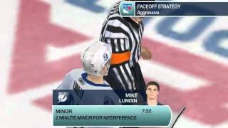 NHL 09 PC Gameplay (NY Rangers Franchise Year 1)