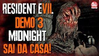 Resident Evil 7 - DEMO 3 : MIDNIGHT / Final Verdadeiro, saindo da casa! / PT-BR